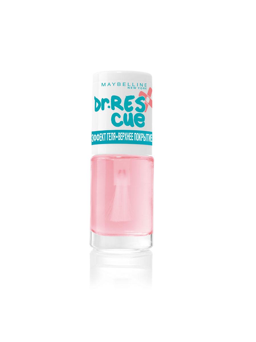 "заказать Maybelline New York Уход за ногтями ""DR. RESCUE Эффект геля - Верхнее покрытие"", глянцевое покрытие, 7 мл"