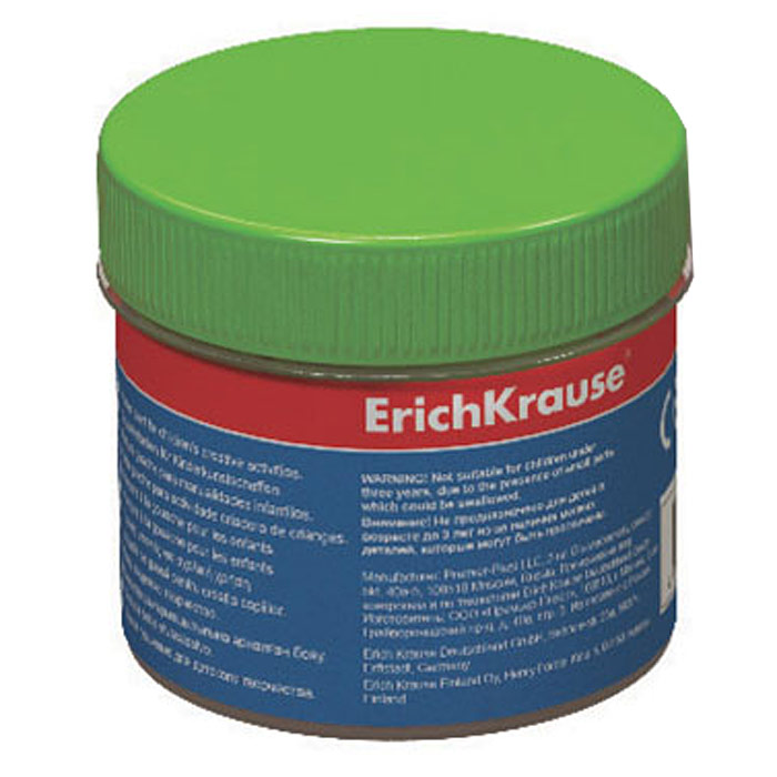 Гуашь Erich Krause, цвет: зеленый, 100 мл35123Гуашь Erich Krause откроет дверь в волшебный мир творчества для вашегоребенка. Бочка с гуашью закрывается винтовой крышкой. Краски легконаносятся на бумагу, картон или грунтованный холст. Легко размываютсяводой и быстро сохнут. Рисование не просто подарит радость вашему малышу, но и поможет емустать более усидчивым и наблюдательным, развивая способность видетьмир во всех его красках и оттенках. Характеристики: Объем баночки с краской: 100 мл. Размер баночки: 5 см х 5,5 см х 5 см.Изготовитель: Россия.