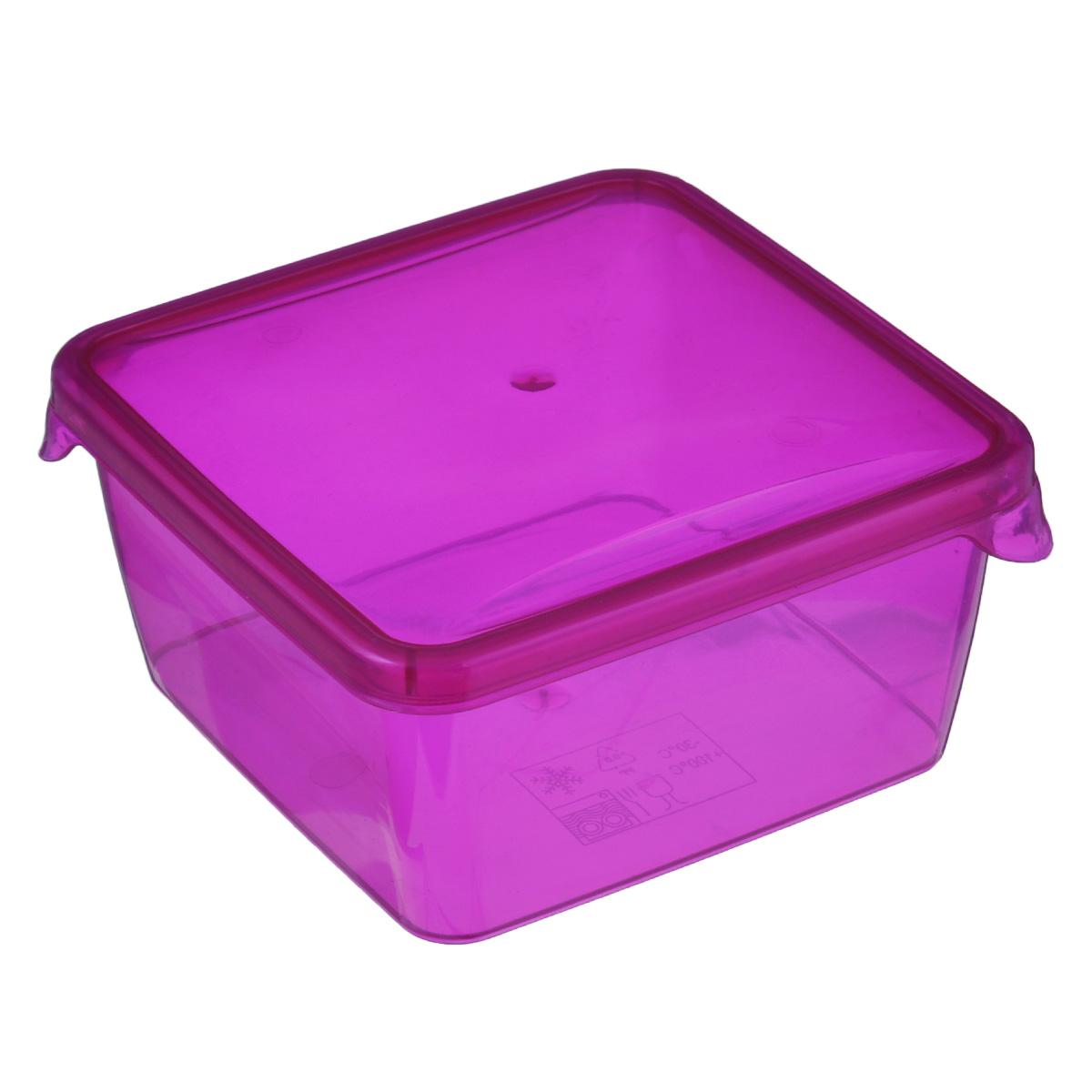 Контейнер P&C Браво, цвет: розовый, 450 млПЦ1030Контейнер P&C Браво выполнен из высококачественного пищевого прозрачного пластика и предназначен для хранения и транспортировки пищи.Крышка легко открывается и плотно закрывается с помощью легкого щелчка. Подходит для использования в микроволновой печи без крышки (до +100°С), для заморозки при минимальной температуре -30°С. Можно мыть в посудомоечной машине.