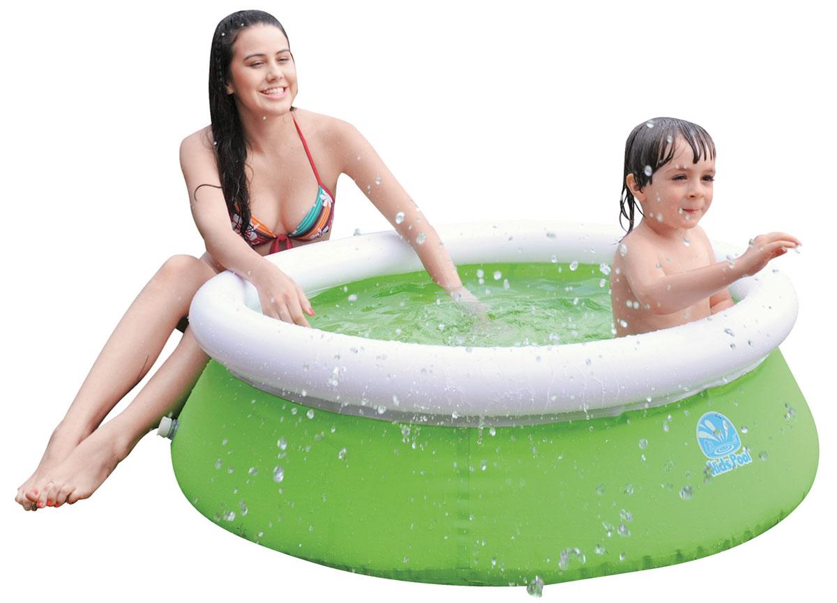 Бассейн надувной Jilong Kids Pool, цвет: салатовый, 122 см х 35 смJL017230NPFКруглый надувной бассейн Jilong Kids Pool предназначен для детского и семейного отдыха на загородном участке. Отлично подойдет для детей от 3 лет. Бассейн изготовлен из прочного трехслойного ПВХ.Комфортный дизайн бассейна и приятная цветовая гамма сделают его не только незаменимым атрибутом летнего отдыха, но и оригинальным дополнением ландшафтного дизайна участка. В комплект с бассейном входит заплатка для ремонта в случае прокола.