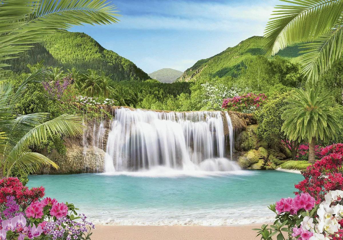 Фотообои Твоя Планета Premium. Райский уголок, 9 листов, 291 см х 204 см фотообои твоя планета премиум начало лета 291 х 272 см 12 листов