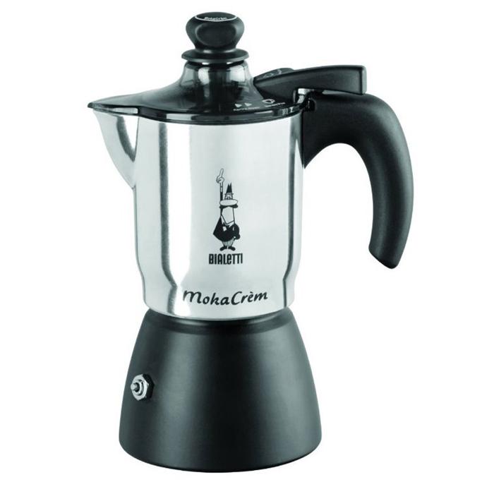 Гейзерная кофеварка Moka Crem 3 порции, коробка4032Гейзерная кофеварка Moka Crem 3 порции, коробка
