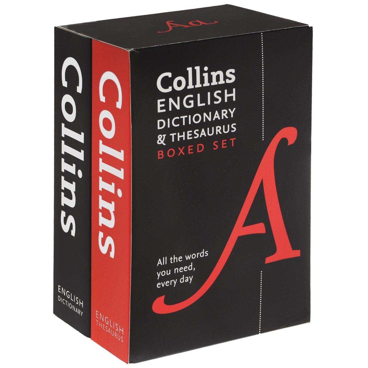 Collins English Dictionary and Thesaurus (комплект из 2 книг) collins mini english dictionary in colour