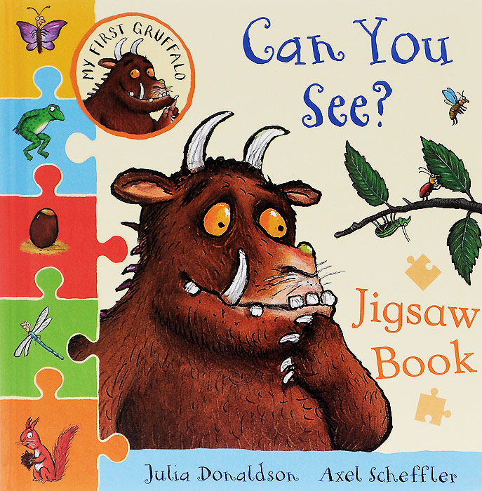 Can You See? Jigsaw Book about you кардиган