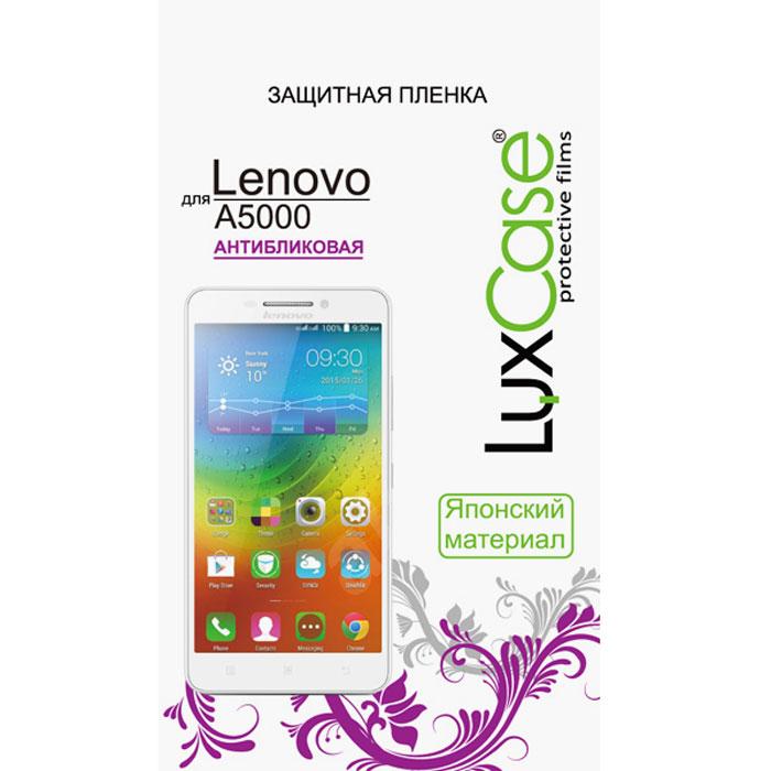 Luxcase защитная пленка для Lenovo A5000, антибликовая51048Защитная пленка Luxcase дляLenovo A5000 сохраняет экран смартфона гладким и предотвращает появление на нем царапин и потертостей. Структура пленки позволяет ей плотно удерживаться без помощи клеевых составов и выравнивать поверхность при небольших механических воздействиях. Пленка практически незаметна на экране смартфона и сохраняет все характеристики цветопередачи и чувствительности сенсора.