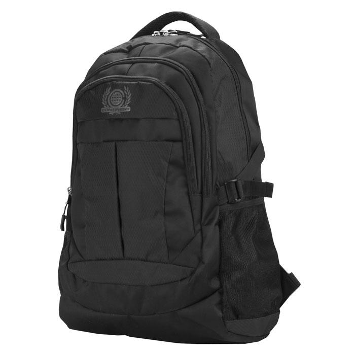 Continent BP-001, Black рюкзак для ноутбука 15,6 рюкзак picard 9809 113 001 schwarz