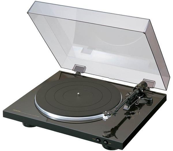 Denon DP-300F, Black проигрыватель виниловых дисков