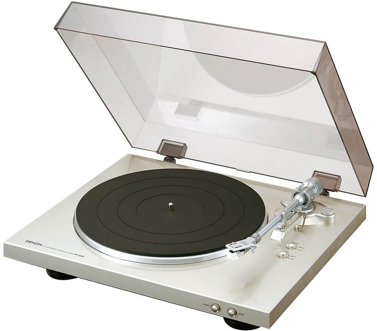 Denon DP-300F, Silver проигрыватель виниловых дисков