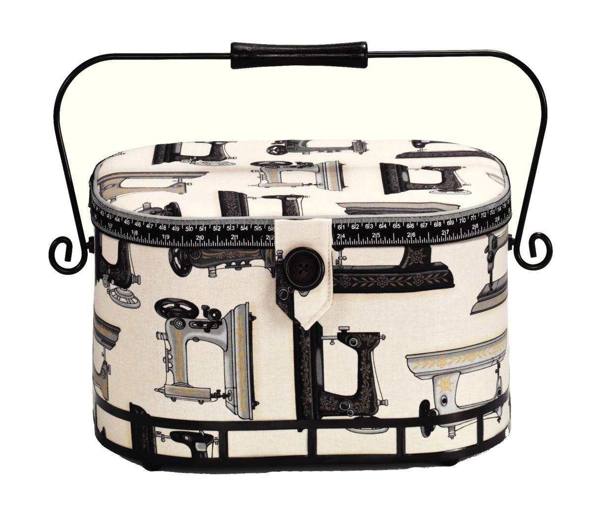 Шкатулка для рукоделия Hobby, 30 х 20,5 х 19 см612288Шкатулка для рукоделия Hobby , станет чудесным подарком для рукодельницы. Порадуйте женщин незаменимой шкатулкой Hobby от производителя Prym.