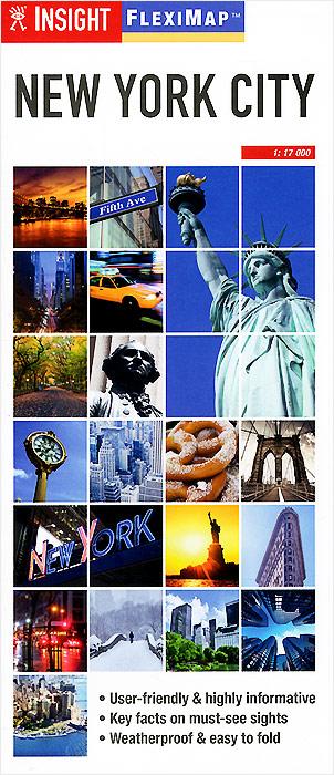 Insight Flexi Map: New York City insight flexi map brussels