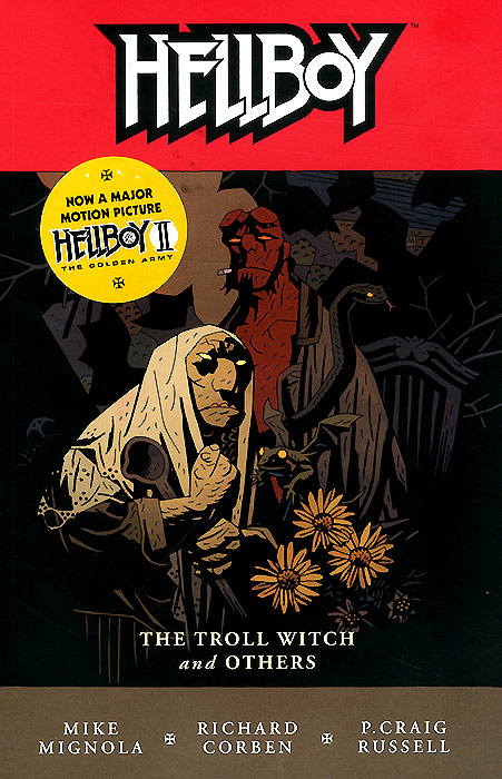 Hellboy: Troll Witch and Other Stories: Volume 7 pillywiggins and the tree witch