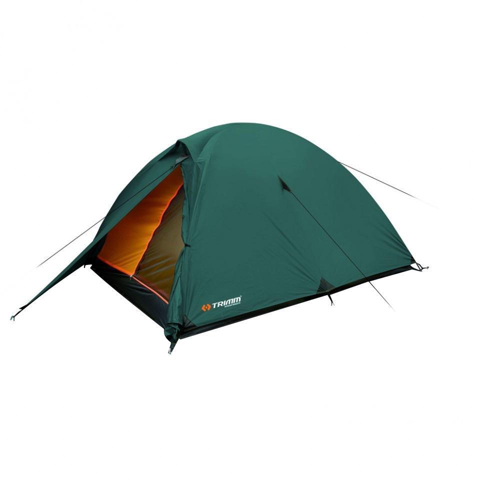 Палатка трехместная Trimm HUDSON 3, цвет: зеленый cпальный мешок trimm walker 185 r red 50191