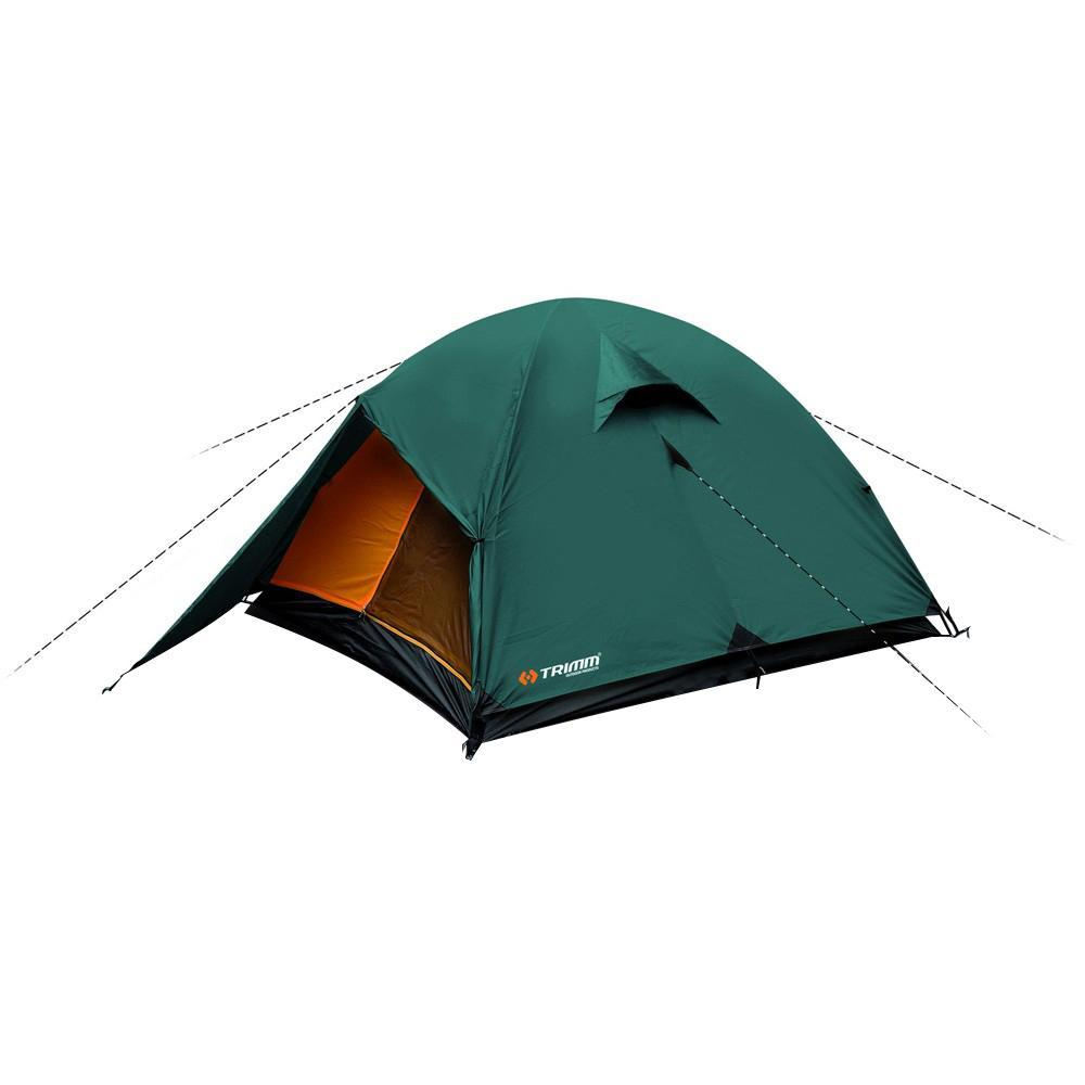 Палатка трехместная Trimm OHIO 2, цвет: зеленый палатка trimm oregon green