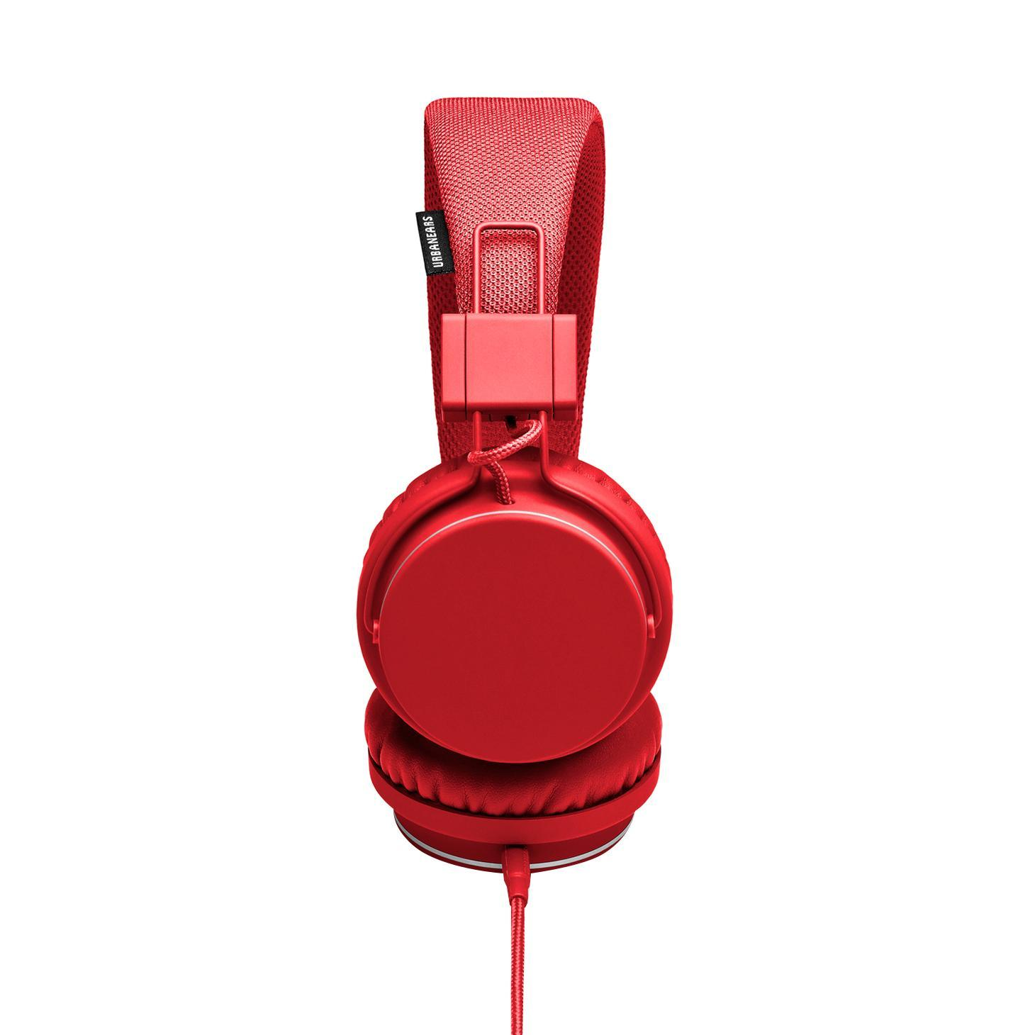 Urbanears Plattan, Tomato наушники urbanears plattan adv wireless dark grey наушники