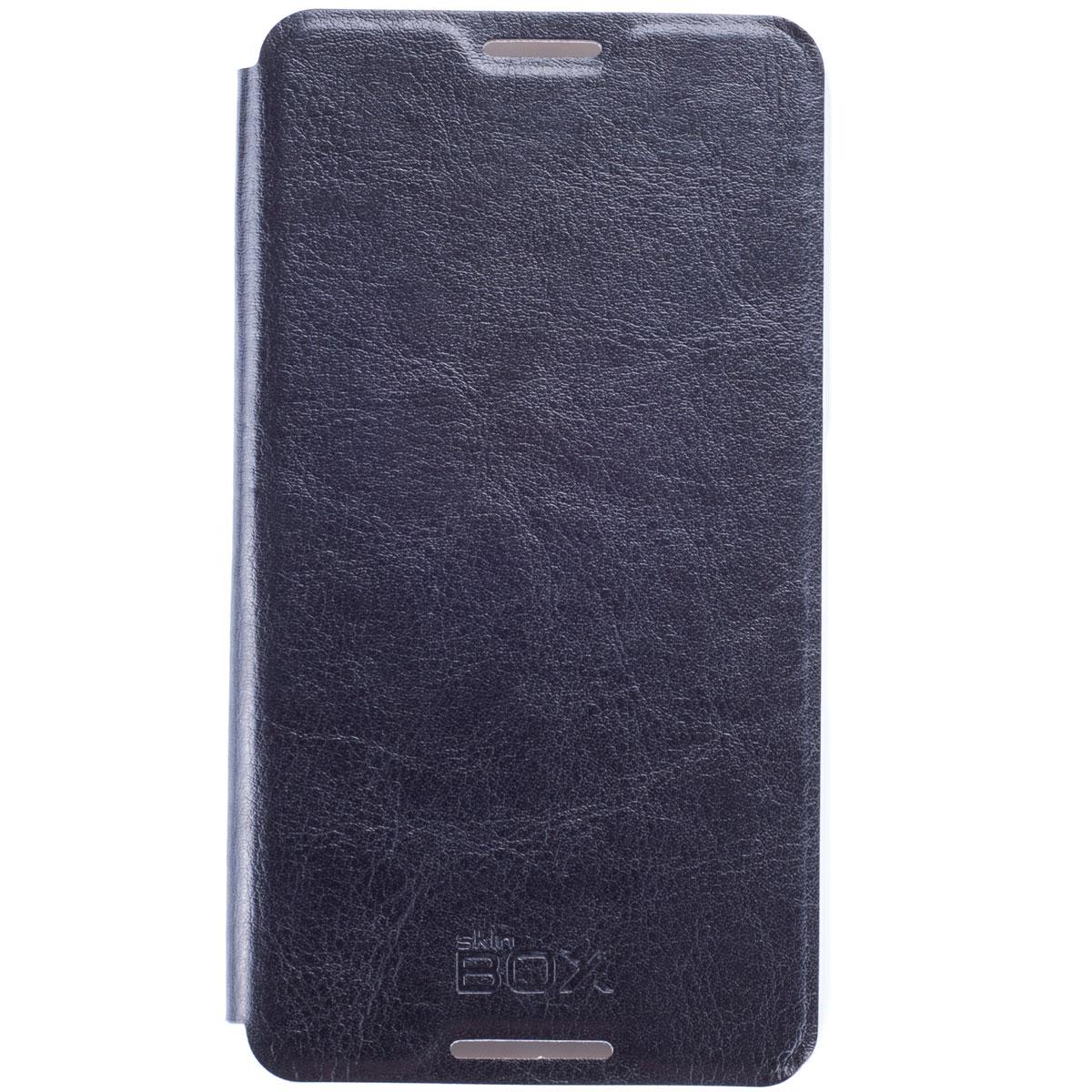 Skinbox Lux чехол для Sony Xperia E4, BlackT-S-AXE4-003Чехол Skinbox Lux для Sony Xperia E4 выполнен из высококачественного поликарбоната и экокожи. Он обеспечивает надежную защиту корпуса и экрана смартфона и надолго сохраняет его привлекательный внешний вид. Чехол также обеспечивает свободный доступ ко всем разъемам и клавишам устройства.