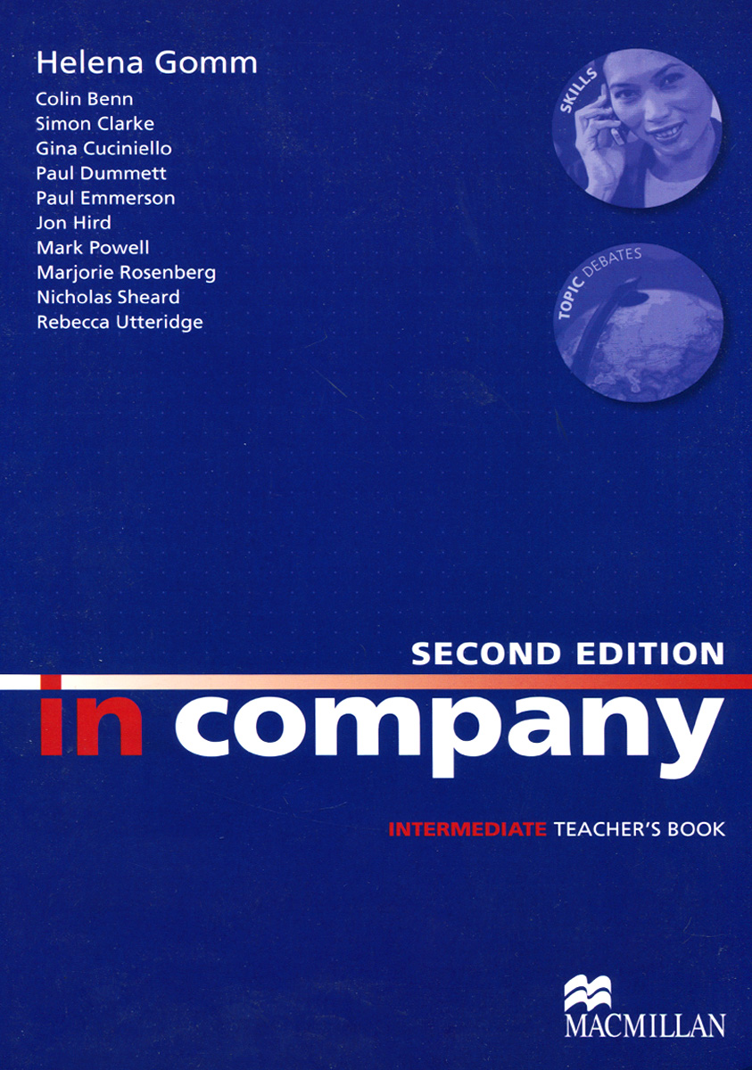 In Company: Intermediate: Teacher's Book brook hart g clark d business benchmark 2nd edition upper intermediate bulats and business vantage teacher s resource book