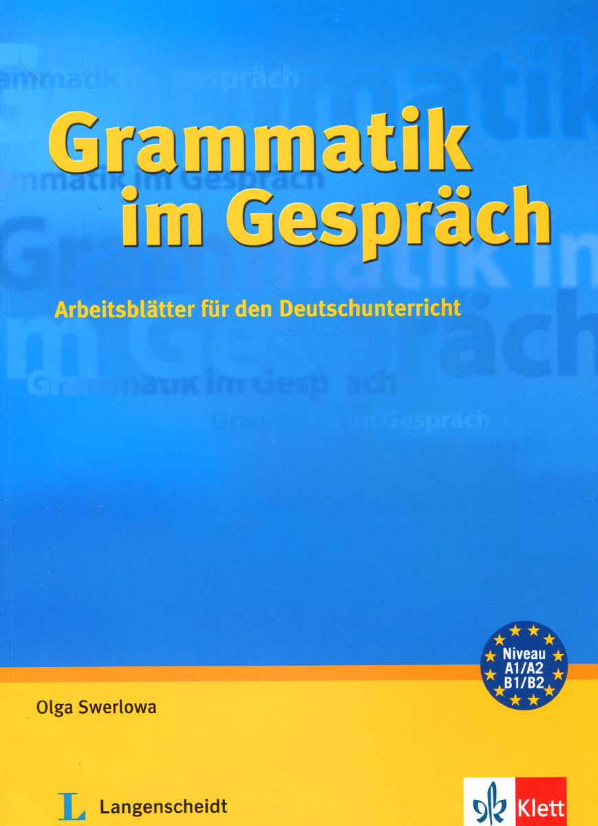 Grammatik im Gesprach: Arbeitsblatter fur den Deutschunterricht grammatik