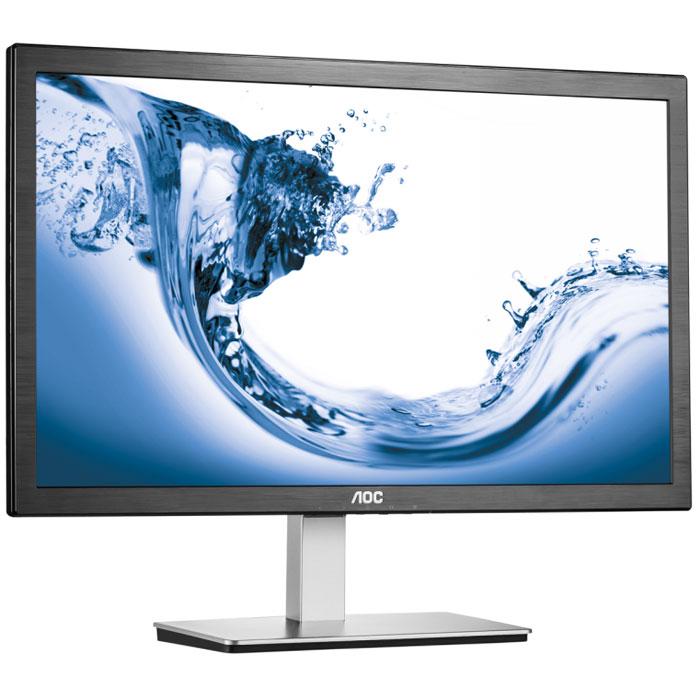 AOC i2276Vwm, Black мониторi2276VwmДисплей AOC i2276Vwm может предложить высокую производительность и оптимальный комфорт для самых разборчивых пользователей. Этот монитор ADS-IPS с диагональю 21,5 дюйма обеспечивает высокую контрастность, великолепную передачу изображений и точное отображение цветов, а также имеет угол обзора до 178 градусов. Благодаря разрешению Full HD 1920 x 1080 вы не упустите ни одной детали на фотографиях, в фильмах, играх и т. д. Малое время отклика 5 мс позволяет работать даже с самыми требовательными приложениями. Разъемы VGA и HDMI позволяют легко подключить компьютер, медиаплеер и игровую консоль. Регулируемая подставка и встроенное крепление VESA позволяют использовать его в качестве настольного или подвесного монитора. От интеграции систем до домашних развлечений – этот монитор не перестает удивлять в офисе и дома.