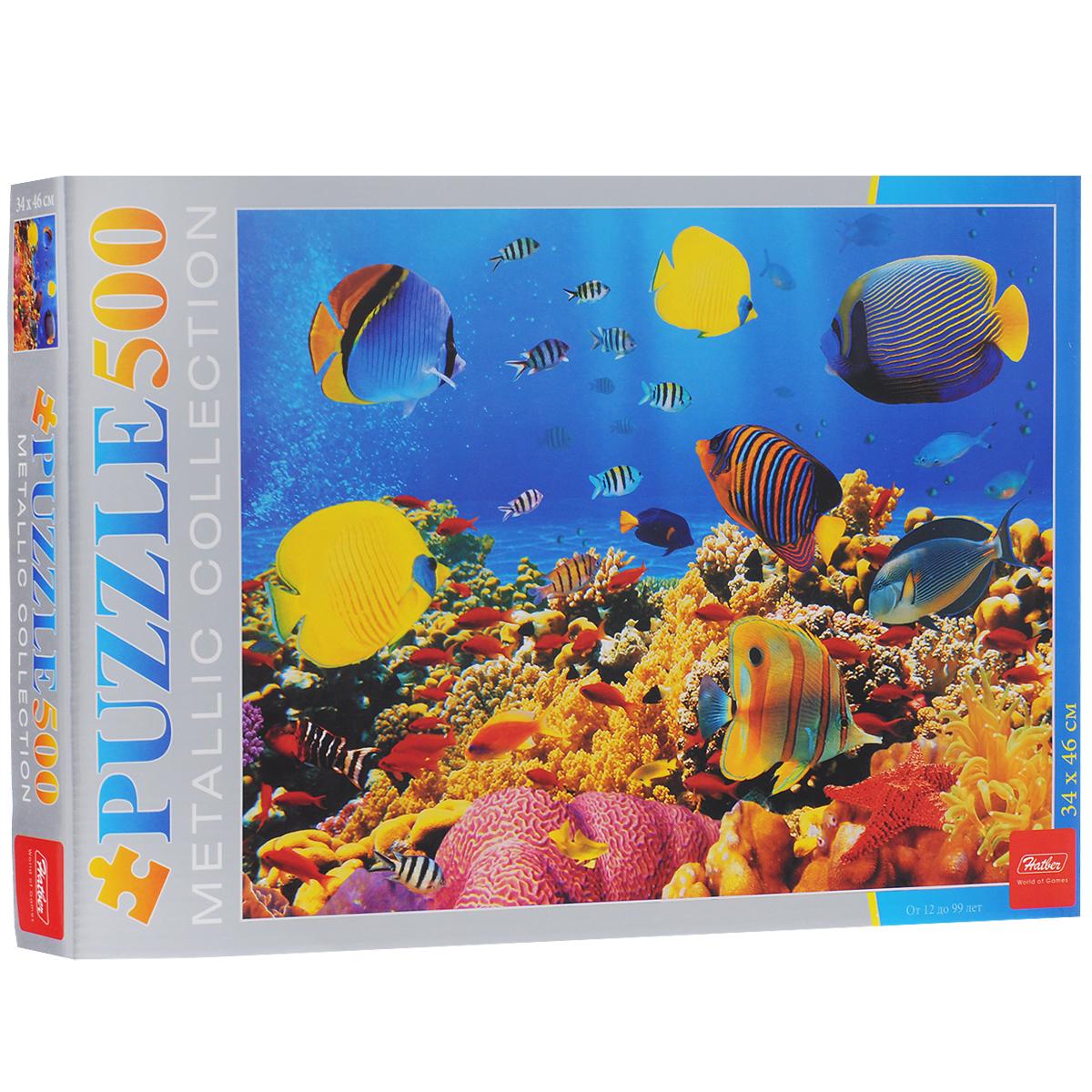 Подводный мир. Пазл, 500 элементов