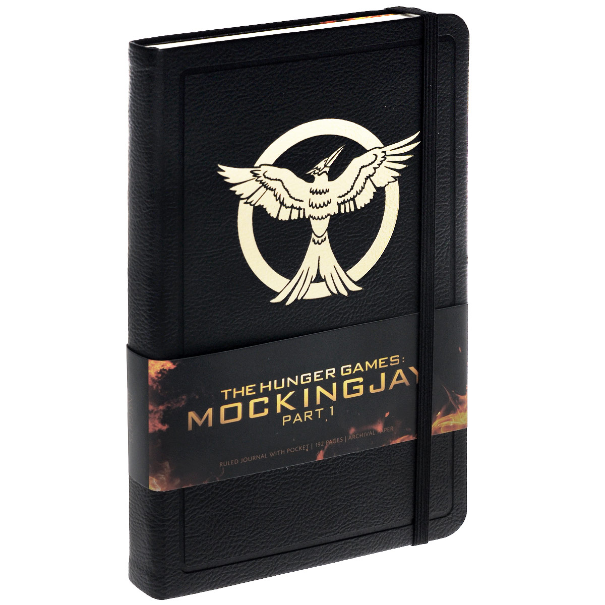 The Hunger Games: Mockingjay: Part 1: Ruled Journal with Pocket худи print bar the hunger games mockingjay