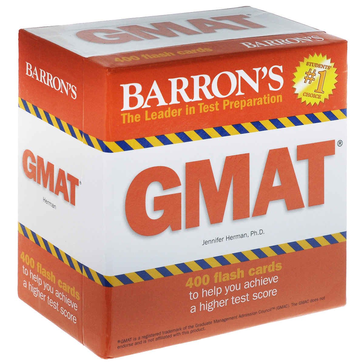 Barron's: GMAT: 400 Flash Cards