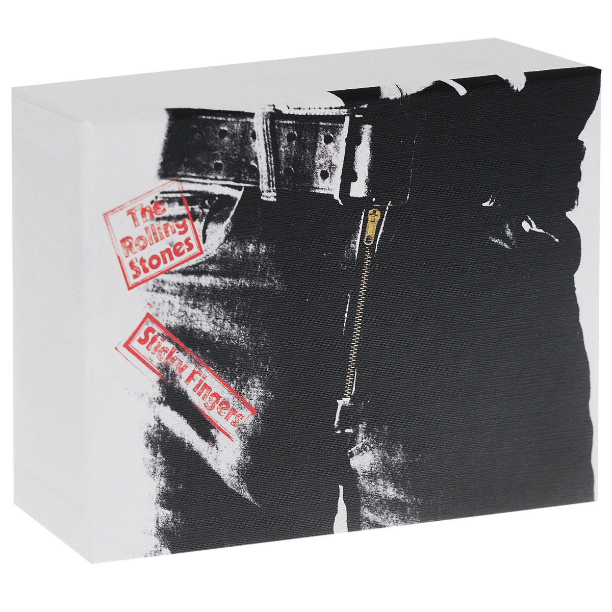 The Rolling Stones The Rolling Stones. Sticky Fingers (3 CD + DVD + LP) 9 inch car headrest mount dvd player digital multimedia player hdmi 800 x 480 lcd screen audio video usb speaker remote control