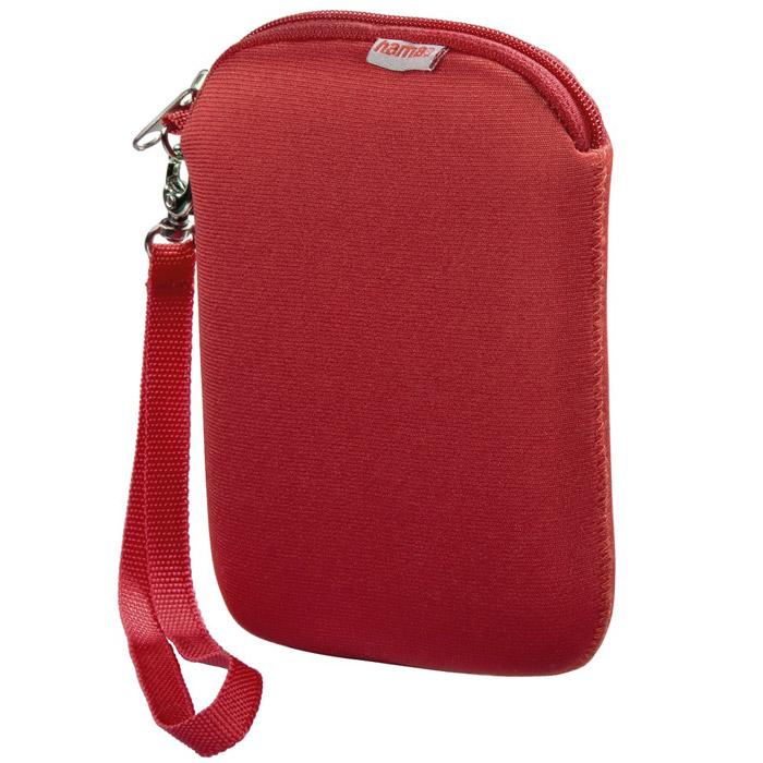 Hama H-95507 чехол для внешнего жесткого диска 2.5, Red аксессуар чехол hama h 95507 neoprene red hdd 2 5