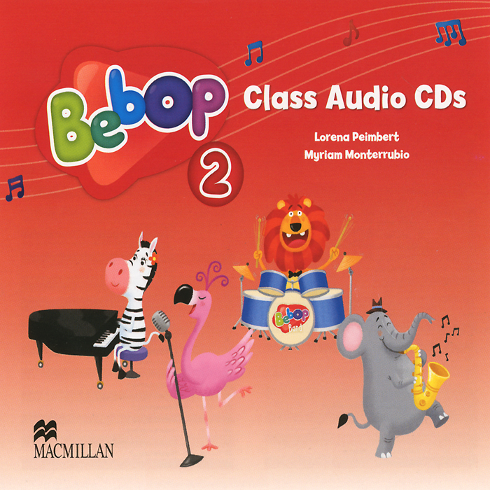 Bebop 2: Class Audio CDs (аудиокурс на 2 CD) compact first for schools class audio cds аудиокурс на 2 cd