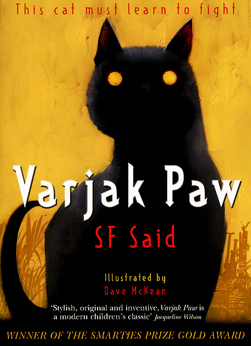 Varjak Paw stick cat cats in the city