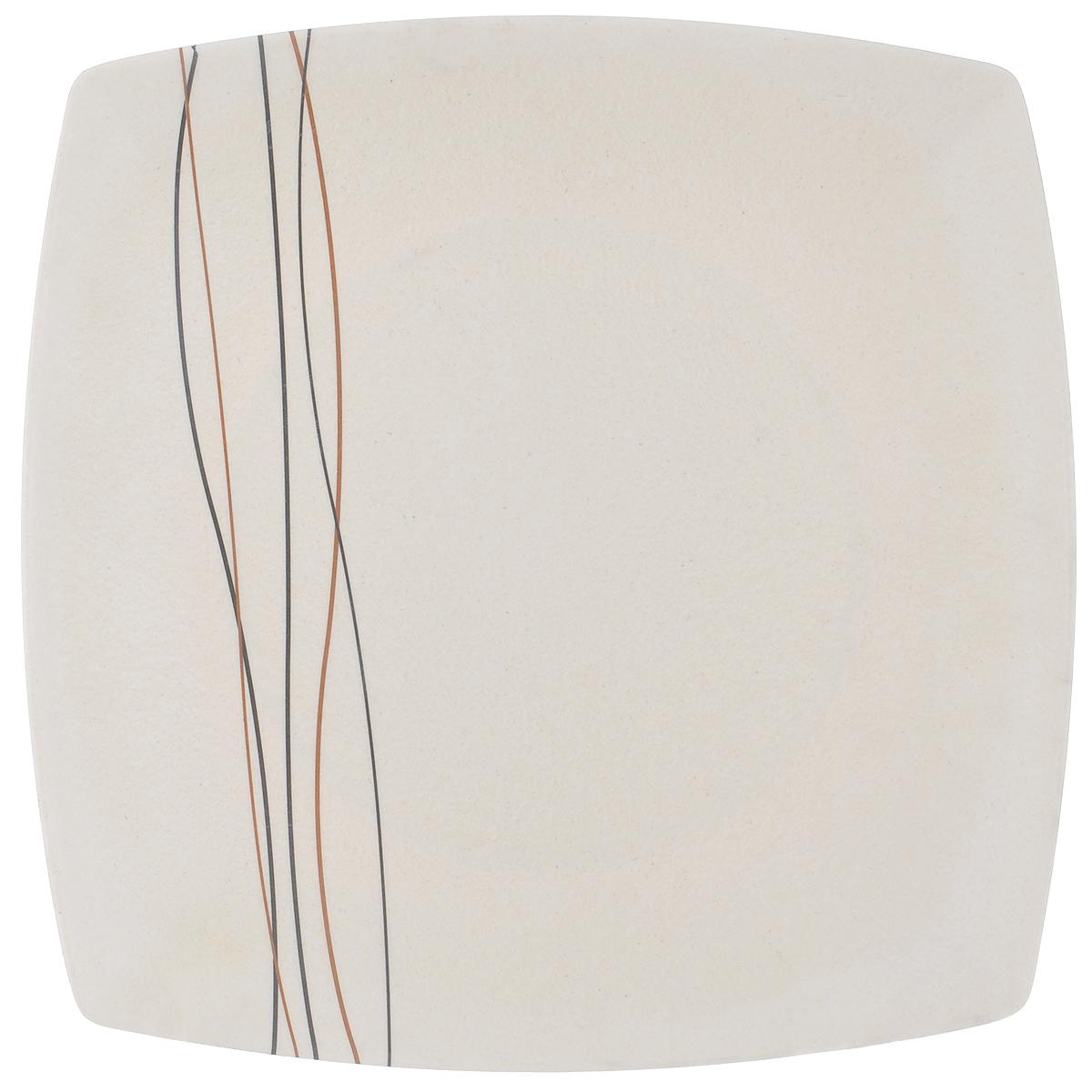 Поднос Kesper, бамбуковый, 25 см х 25 см4115-2Оригинальный поднос Kesper изготовленный из волокон бамбука, станет незаменимым предметом для сервировки стола. Поднос не только дополнит интерьер вашей кухни, но предохранит поверхность стола от грязи и перегрева. Яркий и стильный поднос Kesper придется по вкусу и ценителям классики, и тем, кто предпочитает современный стиль. Размер подноса: 25 см х 25 см х 1,5 см.