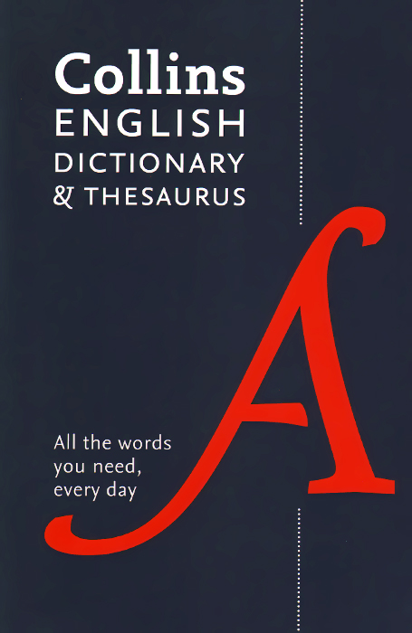 Collins English Dictionary & Thesaurus early learning everyday words