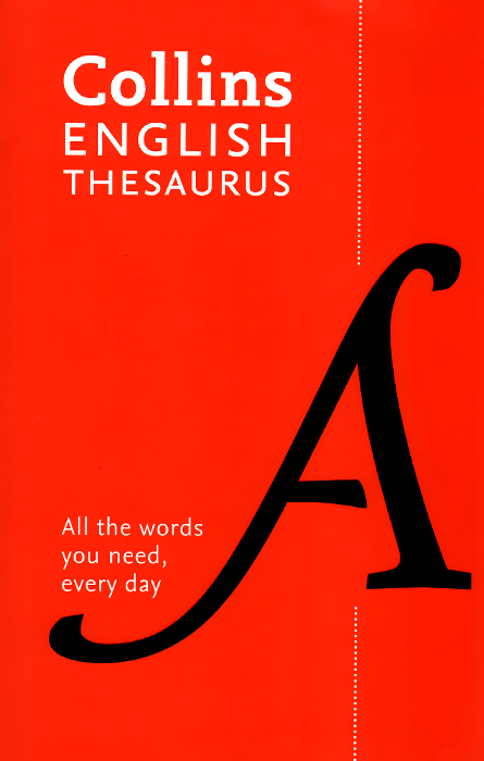 Collins English Thesaurus encarta thesaurus