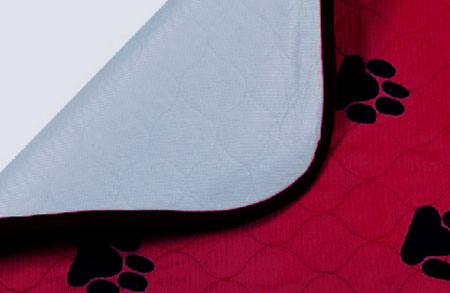 Пеленка впитывающая для животных  V.I.Pet , многоразовая, цвет: бордовый, 60 х 40 см - Средства для ухода и гигиены