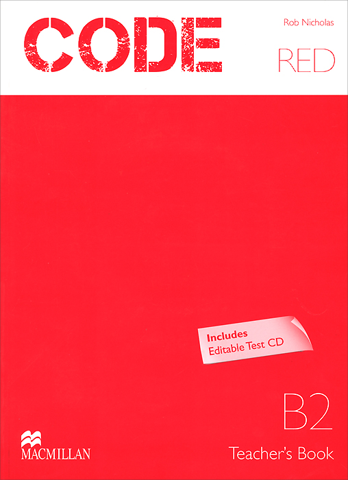 Фото - Code Red: Level B2: Teacher's Book (+ CD) agent based snort in distributed environment