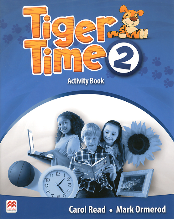Tiger Time 2: Activity Book: Level A1A2 space activity book