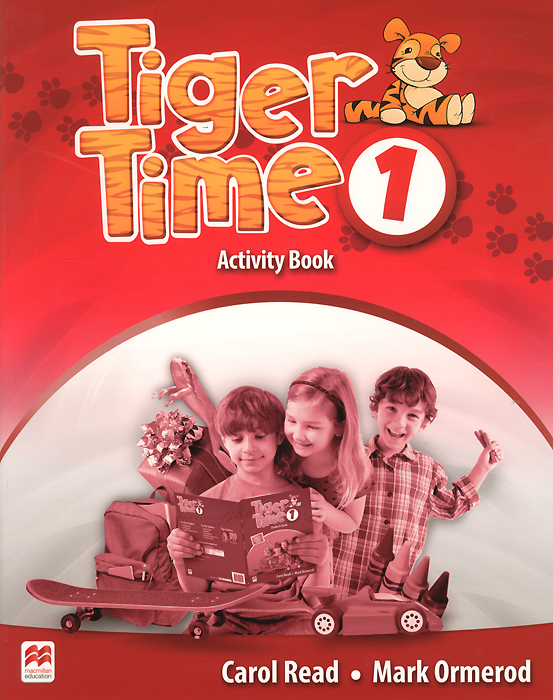 Tiger Time: Activity Book: Level A1A2