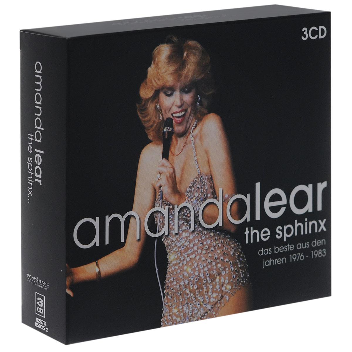 Аманда Лир Amanda Lear. The Sphinx... (3 CD) cd диск amanda lear the best of 3 cd