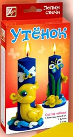 Луч Набор лепим свечи Утенок