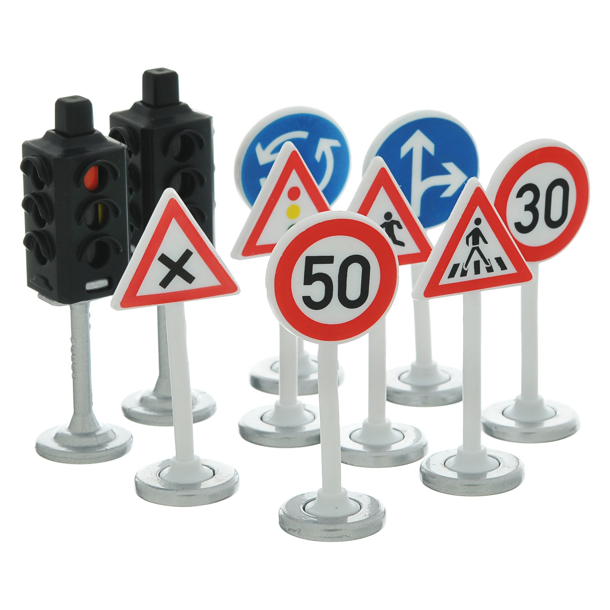 Siku Игровой набор Светофоры и дорожные знаки игрушка siku ауди r8 8 0 3 7 2 4см 1430