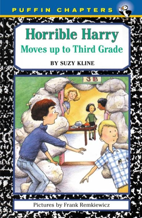 Horrible Harry Moves up to the Third Grade  suzy kline horrible harry cracks the code