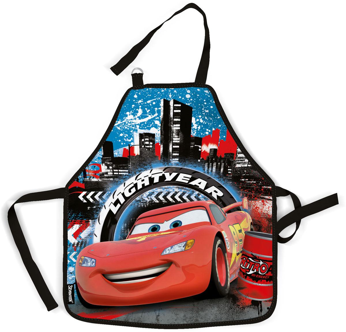 Фартук для детского творчества  Cars , цвет: голубой, красный. CRCB-MT1-029M -  Аксессуары для труда