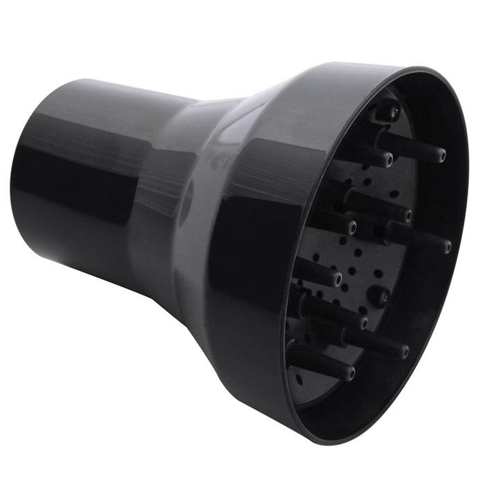 Dewal Doccia диффузор для фенов03-DOCCIAПальчиковый диффузор DOCCIA от DEWAL используется для укладки волос при помощи фена. Он изготовлен из термостойкого пластика, так что позволяет производить сушку очень горячим воздухом, который направляется только туда, куда нужно.Термостойкие «пальцы» фена рассеивают горячий воздух на несколько направленных струй. При помощи диффузора можно формировать локоны и просто придавать волосам объем либо сушить их достаточно быстро и довольно горячим воздухом, рассеянным «пальцами» диффузора.Подходит для фенов Dewal Parlux 3500