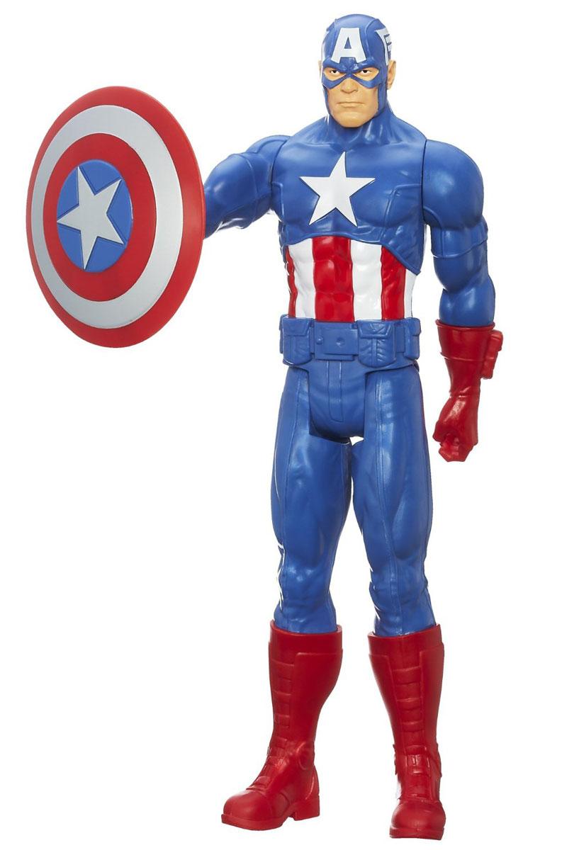 Фигурка Титаны: Мстители CAPTAIN AMERICA, 29 см avengers маска captain america цвет голубой