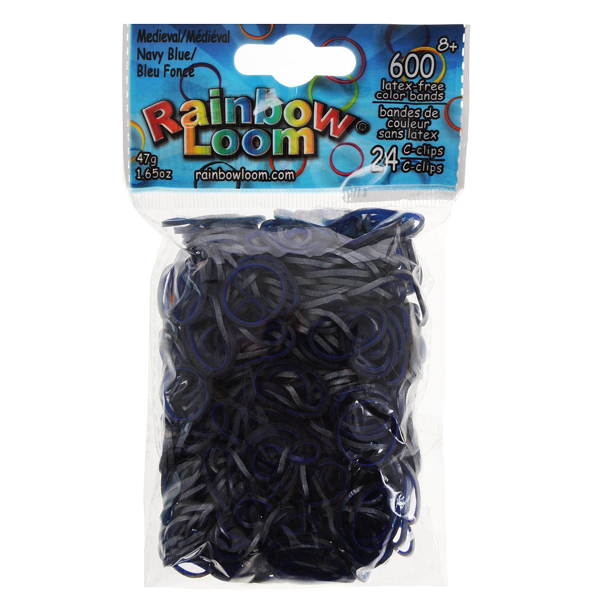 Резиночки безлатексные Rainbow Loom