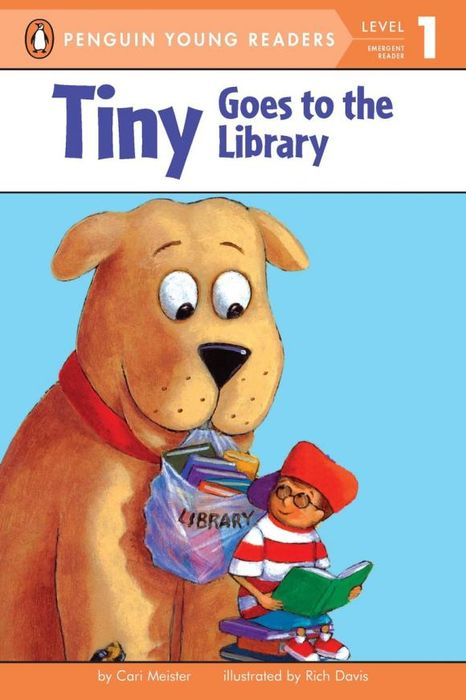Tiny Goes to the Library tiny goes camping