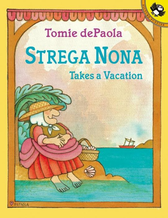 Купить Strega Nona Takes a Vacation,