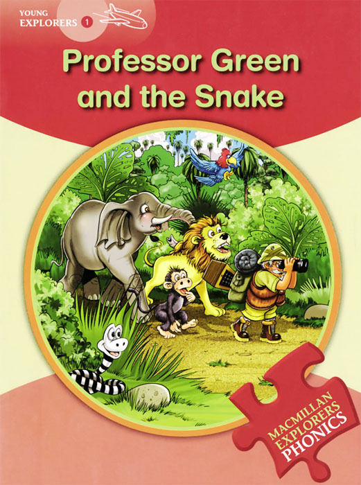 Professor Green and the Snake: Young Explorers Phonics 1