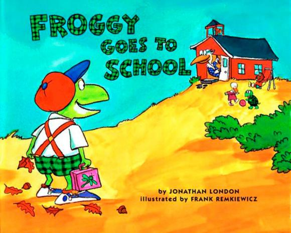 Froggy Goes to School jonathan london froggy goes to bed