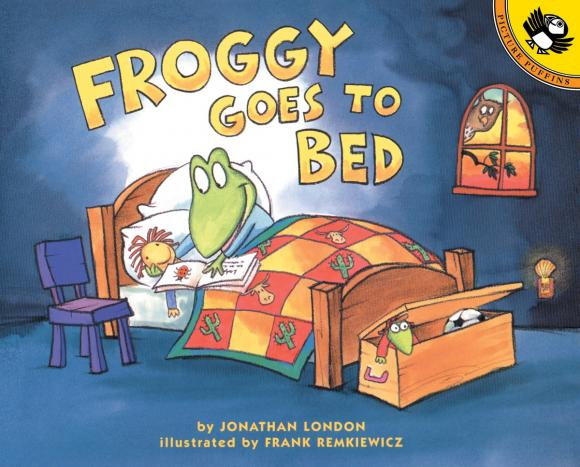 Froggy Goes to Bed jonathan london froggy goes to bed
