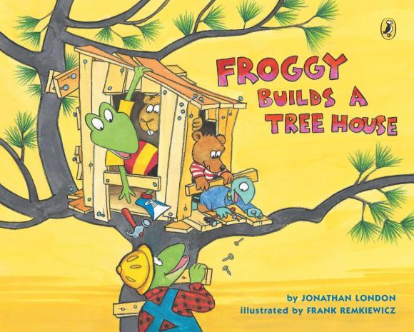 цена на Froggy Builds a Tree House